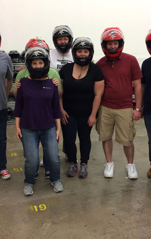Go Karting as an office