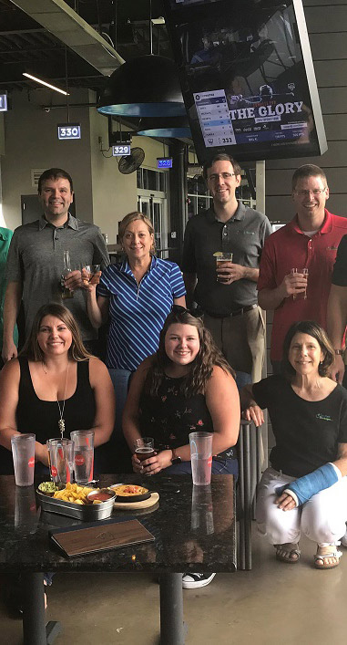 Top Golf outing
